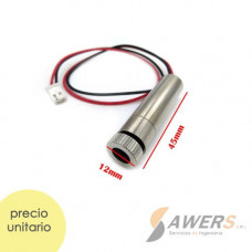 Filamento PLA Tranparente Rosa Intenso 1.75mm - 1Kg