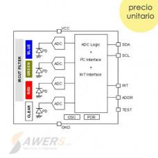 BH1745NUC CJMCU-1745 Sensor de Color RGB