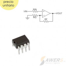 TL972 OP-AMP Low Noise 12Mhz Rail-to-Rail OUT