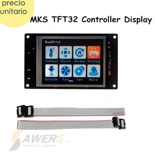 Controlador MKS TFT32 V4.0 Pantalla Tactil APP/BT