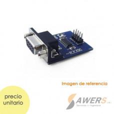 Modulo conversor RS232 MAX3232 12V - TTL