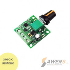 PWM Controlador de velocidad 6-28V 3A 80W