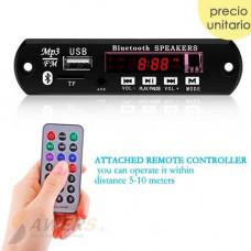 Reproductor MP3 747D Bluetooth FM SD Aux 12V