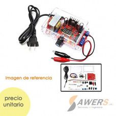 Kit Regulador de Voltaje LM317 (educativo)