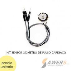 Sensor Oximetro de Pulso Cardiaco