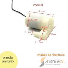 Mini Bomba de Agua Sumergible 5V 1.5W 1.3L/min