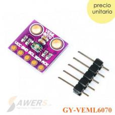 VEML6070 Sensor de luz UV IIC