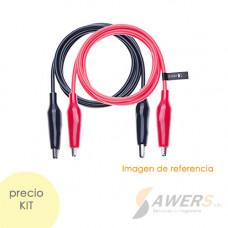 Cable Pinza Cocodrilo (PAR)
