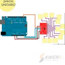 MPR121 Sensor Tactil Capacitivo 8 canales