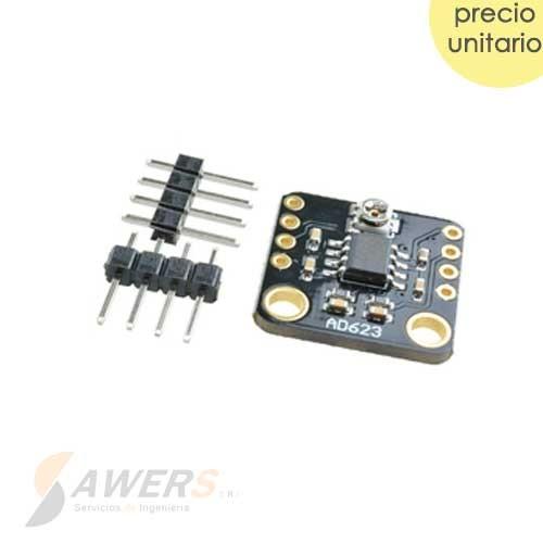 AD623 Amplificador de Instrumentacion CMRR