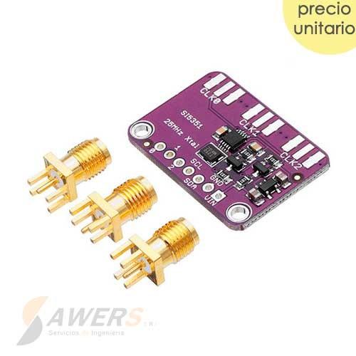 SI5351A Generador de Reloj 8Khz-160Mhz