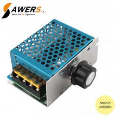 Dimmer SCR 220V 4000W (Regulador de voltaje AC)