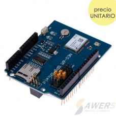 GPS Ublox NEO-6M Logger Shield  (con Antena IPX)