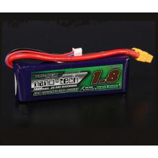 Bateria Lipo 7.4v 1800mAh 2S 25-50C Turnigy