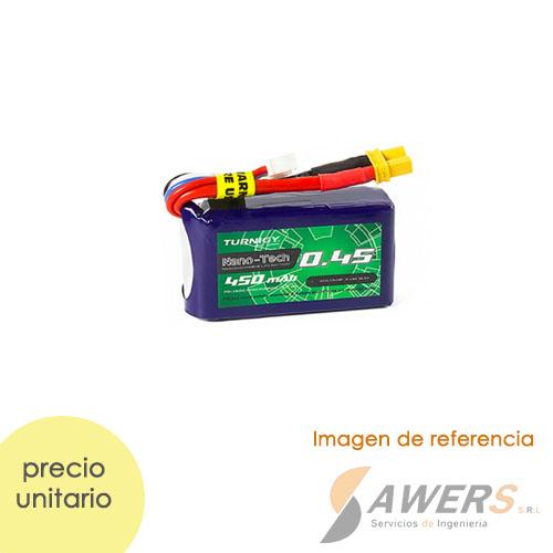 Bateria Lipo 11.1v 460mAh 3S 25-40C Turnigy