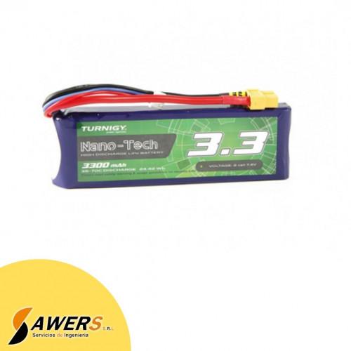 Bateria Lipo 7.4v 2200mAh 2S 25-35C Zippy Compact