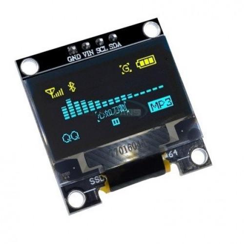 Mini Pantalla OLED 0.96inch 128X64 IIC