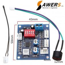 HW-585 Controlador de temperatura y velocidad PWM 12V
