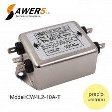 CW4L2-10A-T Filtro EMI Supresor de Ruido 220V