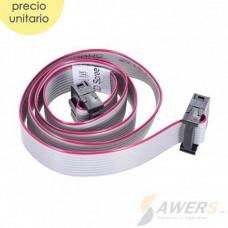 Cable de cinta IDC FC-10P simple 2x5 2.54mm 60cm