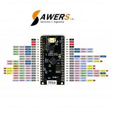 TTGO LORA32 ESP32 Wifi-Bluetooth SX1276 915Mhz