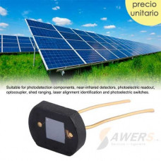 Sensor de luz Fotorresistivo 2DU3 Celula Solar de Silicio