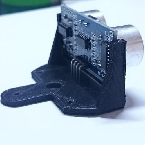 Soporte Para Sensor Ultrasonico (No Incluye El Sensor)