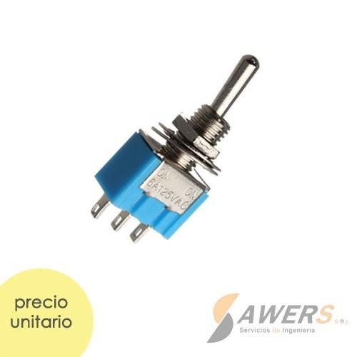 Interruptor 3Pines ON-OFF 220V 3A