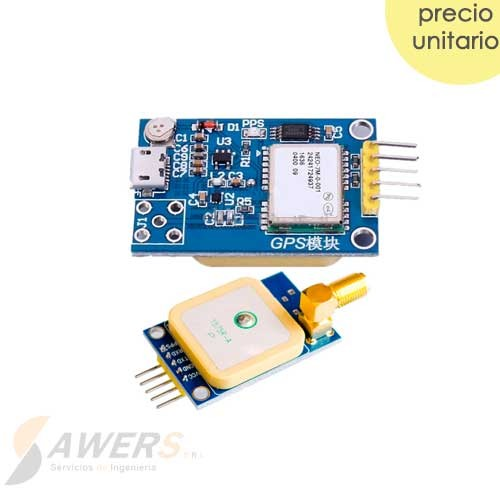 GPS Ublox NEO-7M USB Serial con Antena