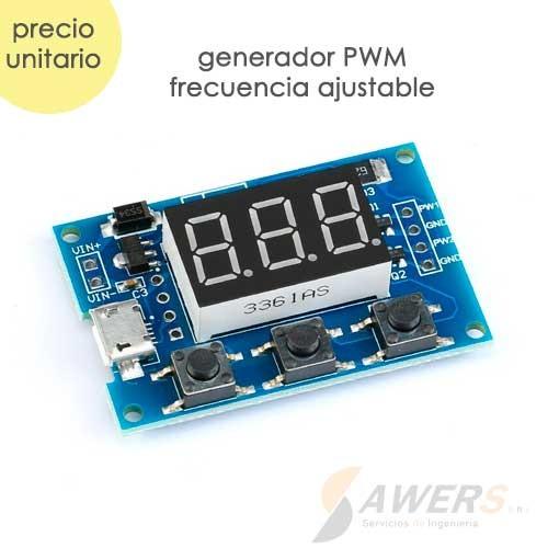 PWM Generador de Onda Cuadrada 1-150KHz 2CH