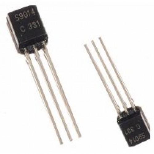 2SC9014 Transistor preamplificador de bajo nivel