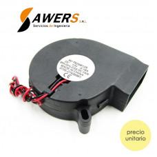 Ventilador Direccional 70x70x25MM 12V
