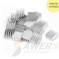 Disipador de aluminio A4988/DR8825
