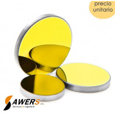 Espejo Reflectivo Si-Mo 20x3mm Gold-Plated