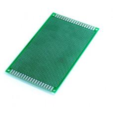 Placa PCB perforada 9X15cm (doble cara)