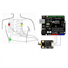 Gravity ECG frecuencia cardiaca SEN0213