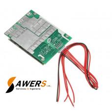 BMS Circuito de carga y descarga 4S 12V 100A LiFePO