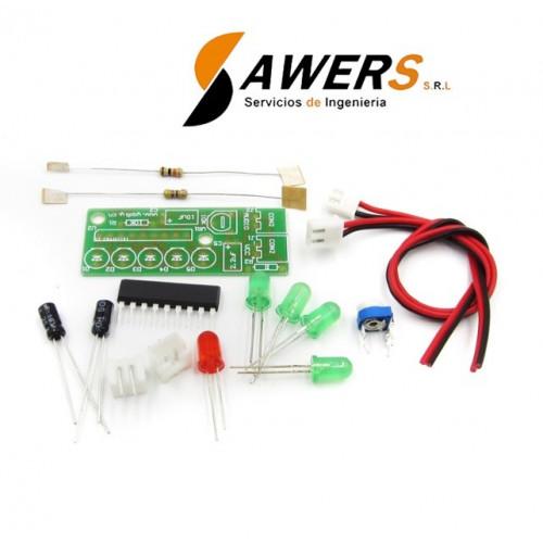 KA2284 Indicador de nivel de Audio (Version Kit)