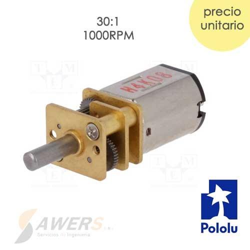 Micro Motor Pololu HP 6V 30:1