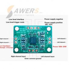 PAM8006 Amplificador Estereo Clase D 10W