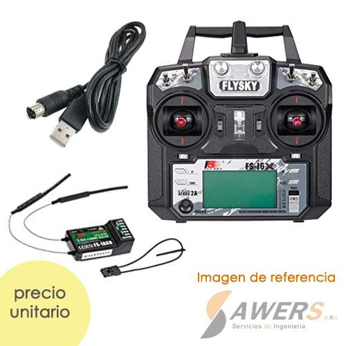 Radio Control Flysky FS-I6 Con Receptor 2.4Ghz