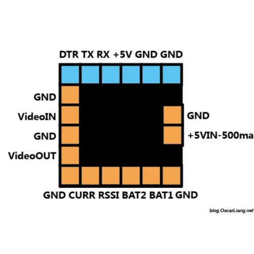 Control de vuelo Micro MinimOSD