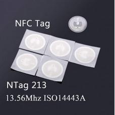Tag NFC NTag213 13.56MHz