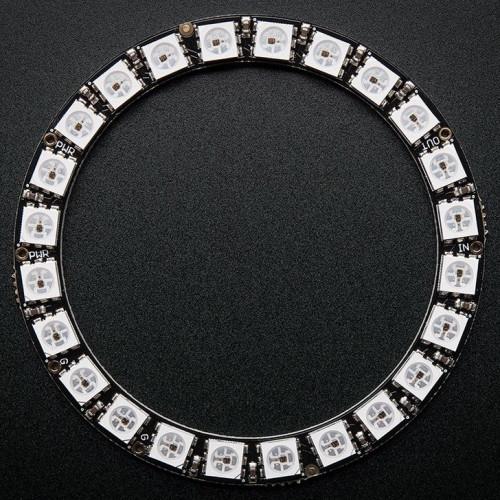 Led RGB WS2812 24Bit Tira PCB Circular