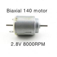 Mini motor DC doble eje 8000Rpm 3V