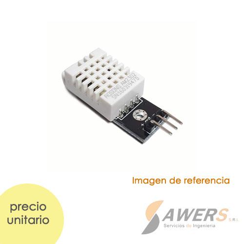 AM2302 Sensor de Temperatura y Humedad (cableado DHT22)