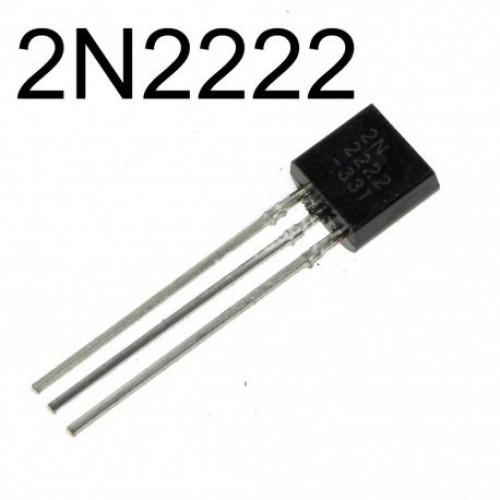 2N2222 Transistor NPN 60V 250Mhz 50hFE