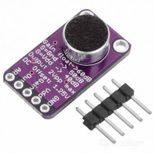 MAX9814 Modulo Amplificador De Microfono con AGC y bajo ruido