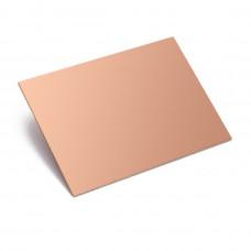 PCB Virgen cara simple 7x10cm (fibra de vidrio)