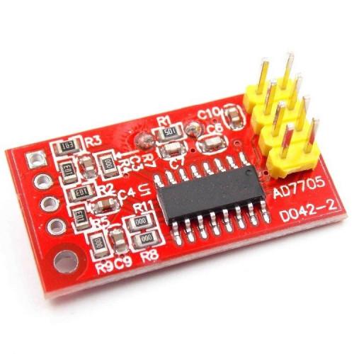 AD7705 Conversor ADC 16bit 2CH
